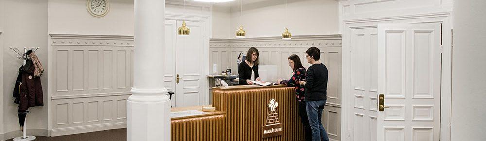 Masmästarens huvudkontor i Falun